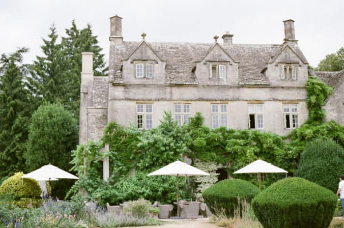 Barnsley House in the Cotswolds in England