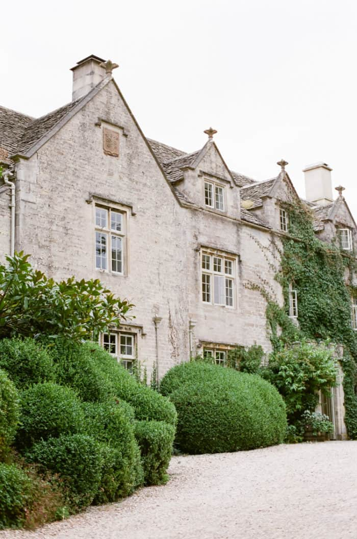 Barnsley House In The Cotswolds In England In Summer