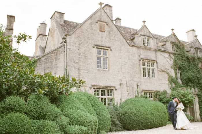 British Barnsley House In The Cotswolds In England