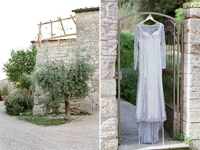 Bridal Details At Borgo Pignano In Tuscany In Italy With Sposiamovi Events