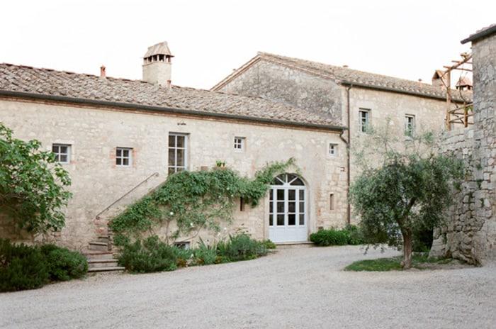 Architecture At Borgo Pignano In Tuscany In Italy With Sposiamovi Events