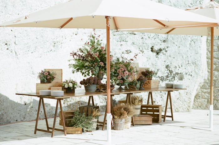 Wedding Cocktail Hour Details At Borgo Pignano In Tuscany In Italy With Sposiamovi Events