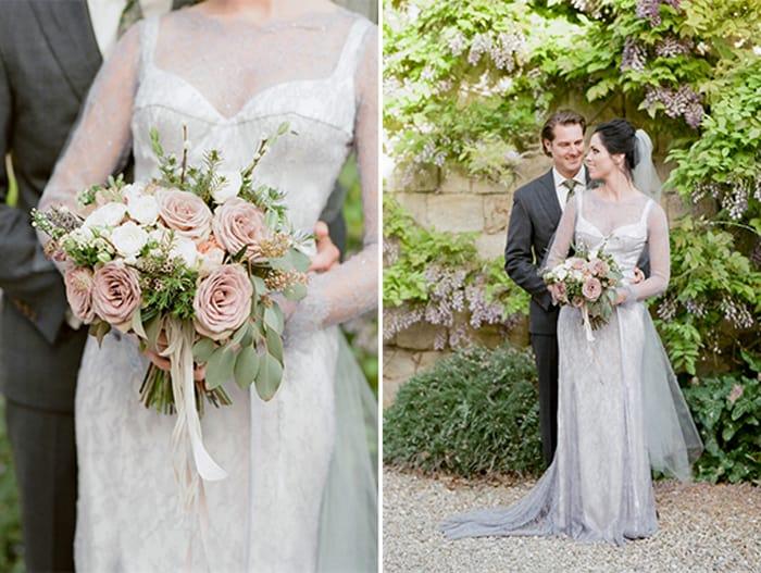 Wedding Couple Hugging At Borgo Pignano In Tuscany In Italy With Sposiamovi Events