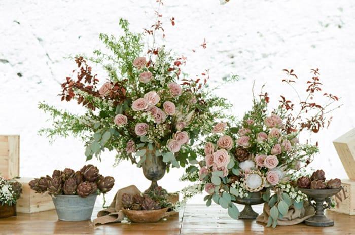 Wedding Flowers From La Rosa Canina Firenze At Borgo Pignano In Tuscany In Italy With Sposiamovi Events