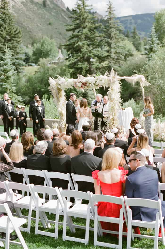 Jewish Wedding Ceremony At The Westin Riverfront And Spa In Beaver Creek With Calluna Events