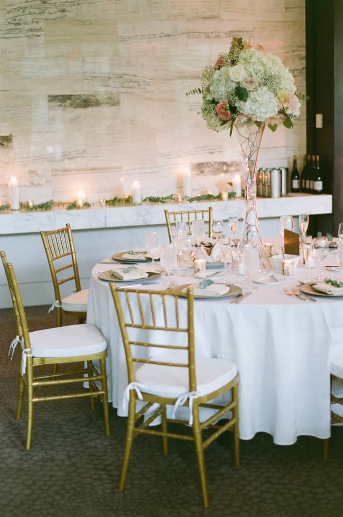 Tablescape At Jewish Wedding At The Westin Riverfront And Spa In Beaver Creek With Calluna Events