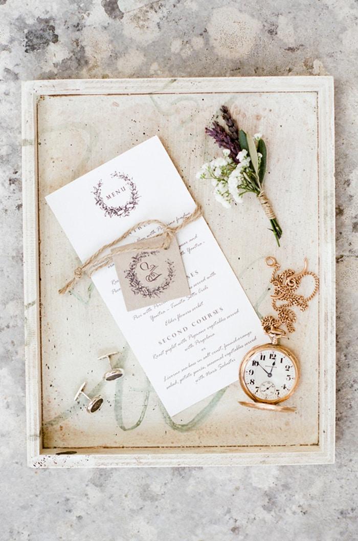 Invitation for a destination wedding in Tuscany