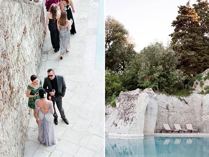 Destination wedding hosted at Borgo Pignano in Tuscany, Italy