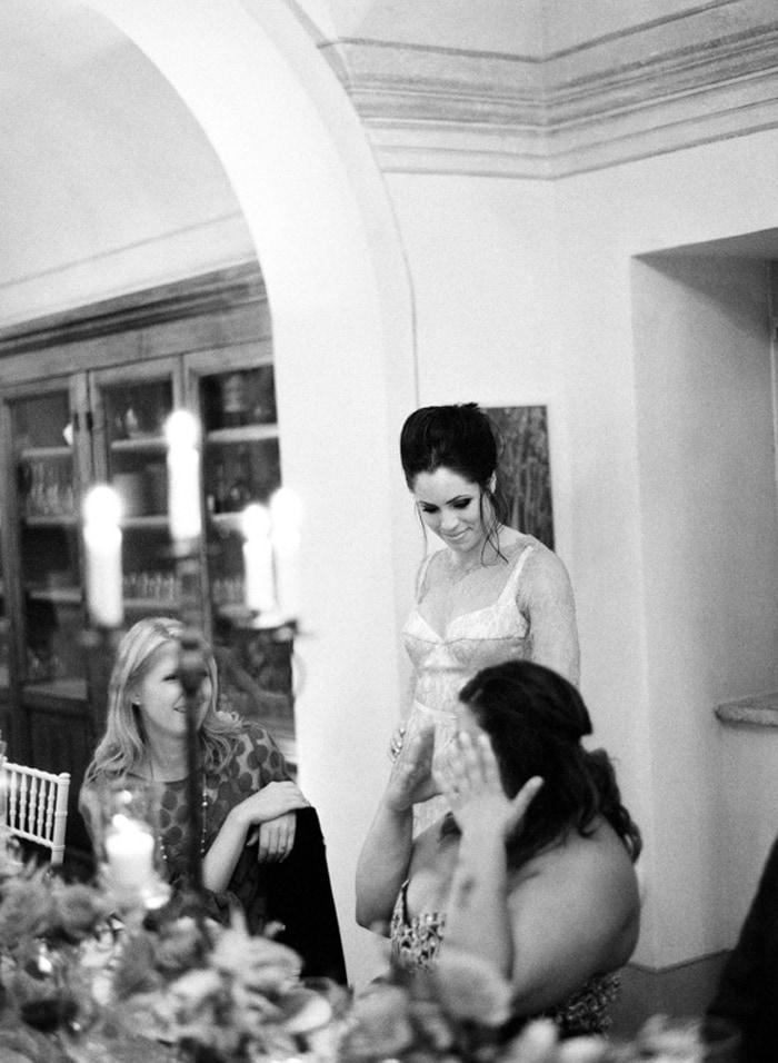 Destination wedding reception at Borgo Pignano wedding venue in Tuscany
