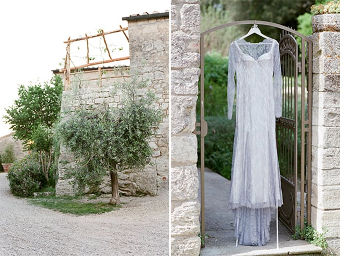 Bridal Details At Borgo Pignano In Tuscany In Italy With Sposiamovi Events
