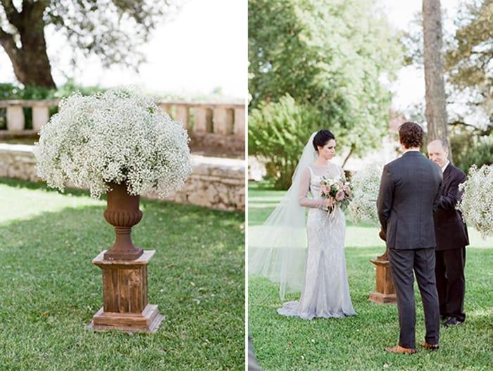 Wedding Ceremony At Borgo Pignano In Tuscany In Italy With Sposiamovi Events