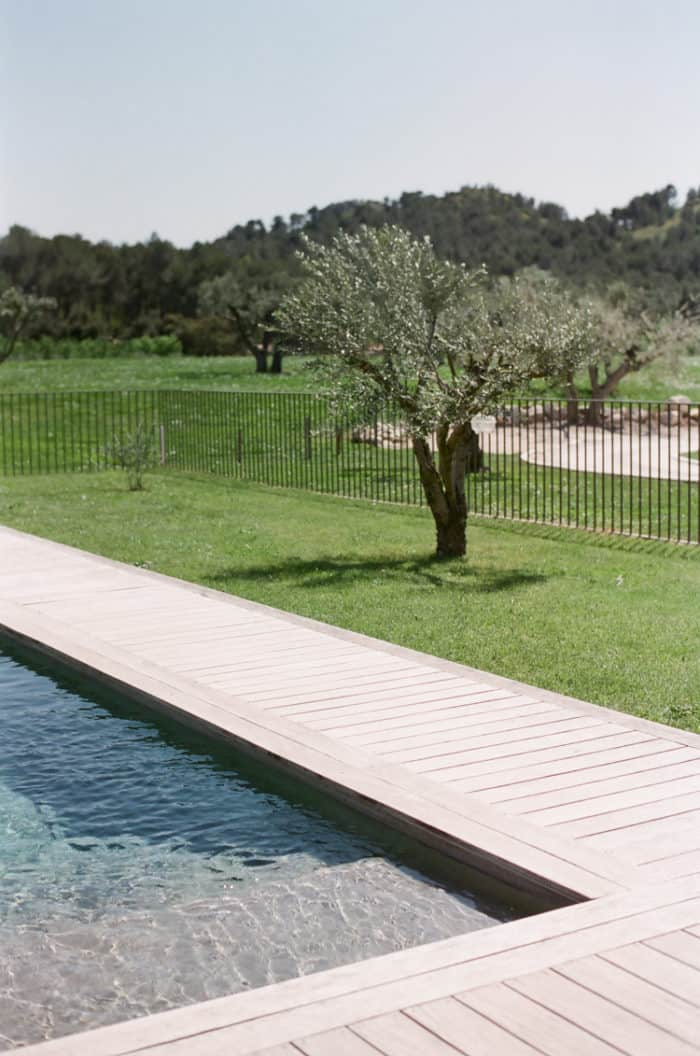 Pool At Domaine De Manville In Provence During Tamara Gruner Workshops
