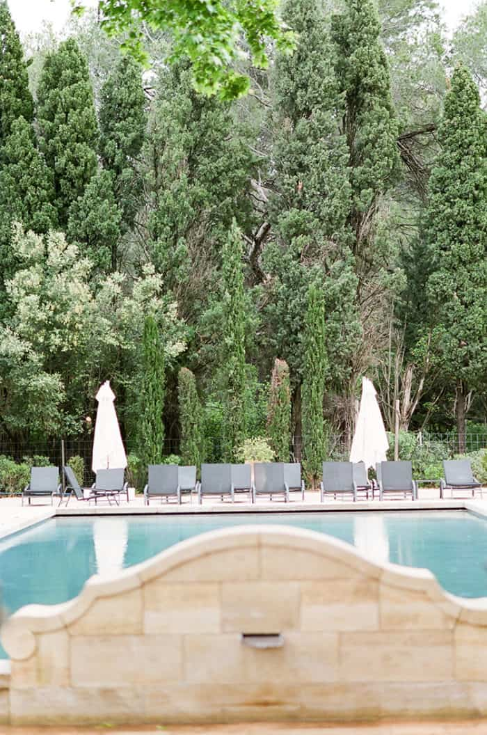 Pool at Domaine De Manville in Provence France