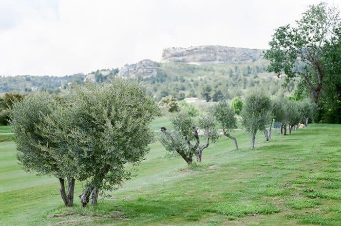 Domaine De Manville golf course in Provence