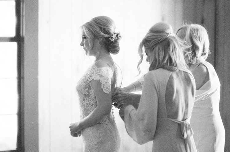 Bride Getting Ready At Eaton Ranch Wedding In Vail With Bella Event Design And Planning