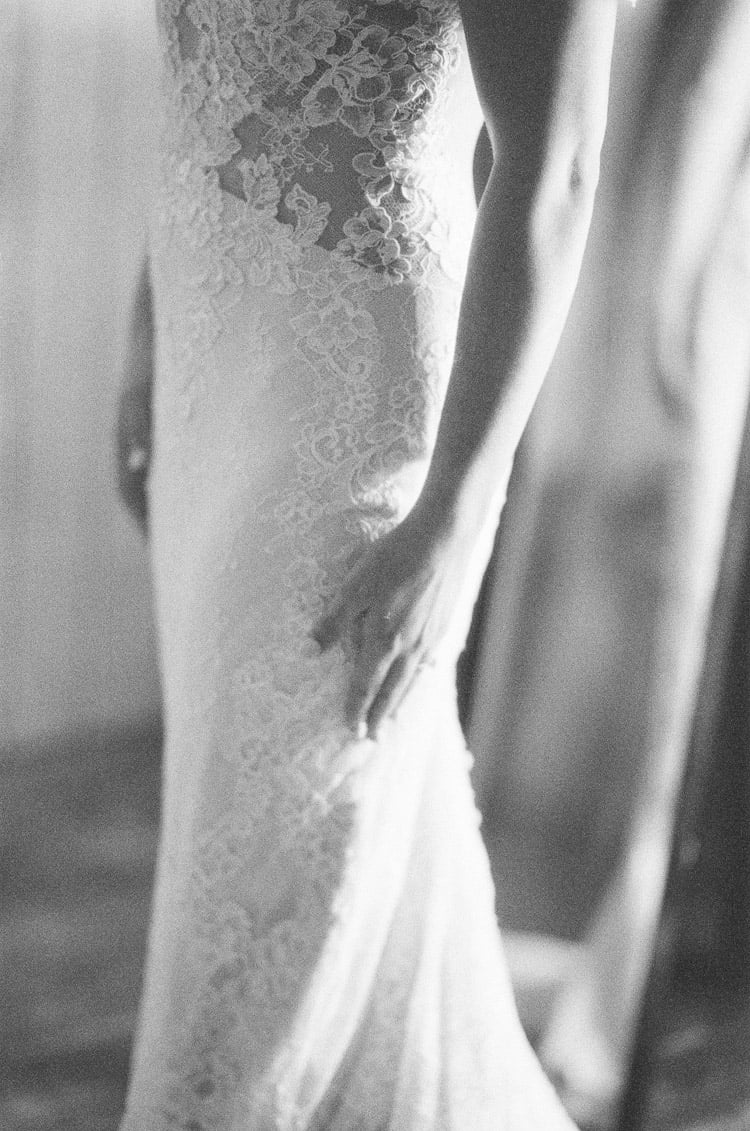 Ines Di Santo Dress Details At Eaton Ranch Wedding In Vail With Bella Event Design And Planning