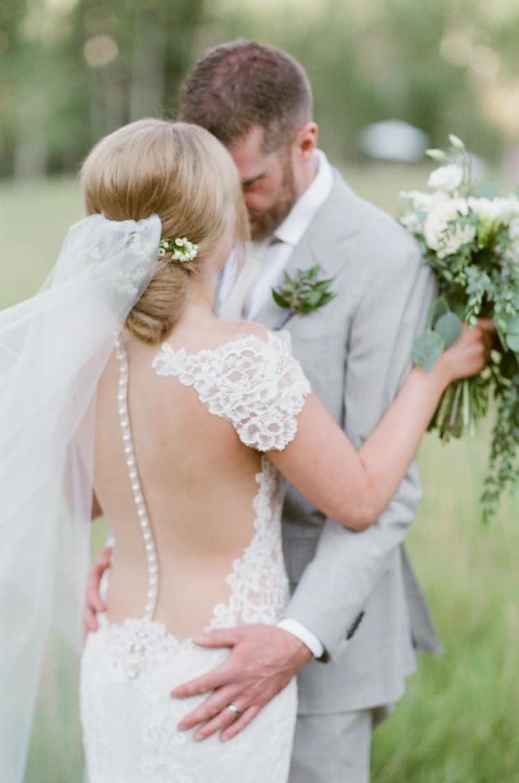 Bride And Groom At Eaton Ranch Wedding In Vail With Bella Event Design And Planning