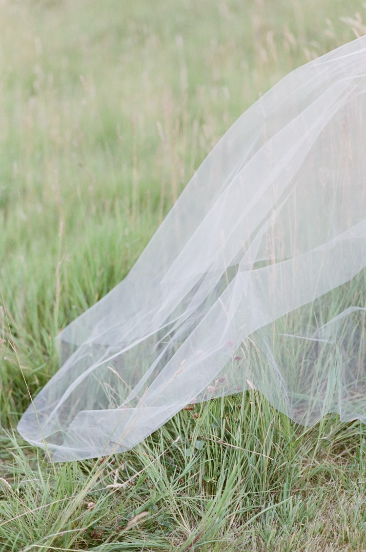 Veil touching grass at Eaton Ranch