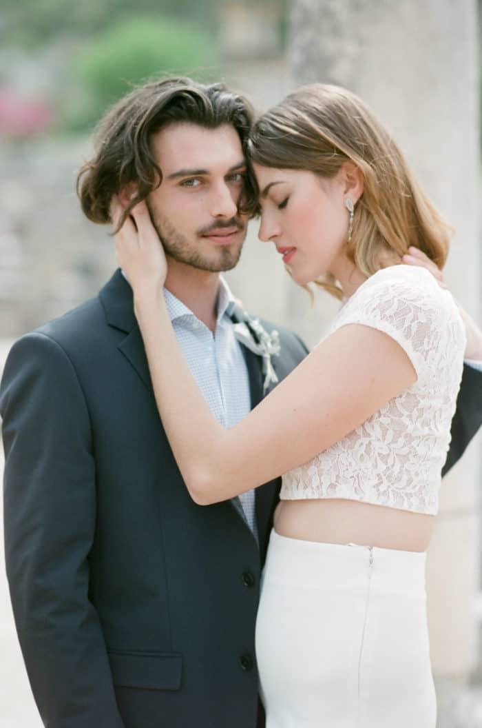 Engaged Couple In Love At Glanum Ruins At Tamara Gruner Workshops