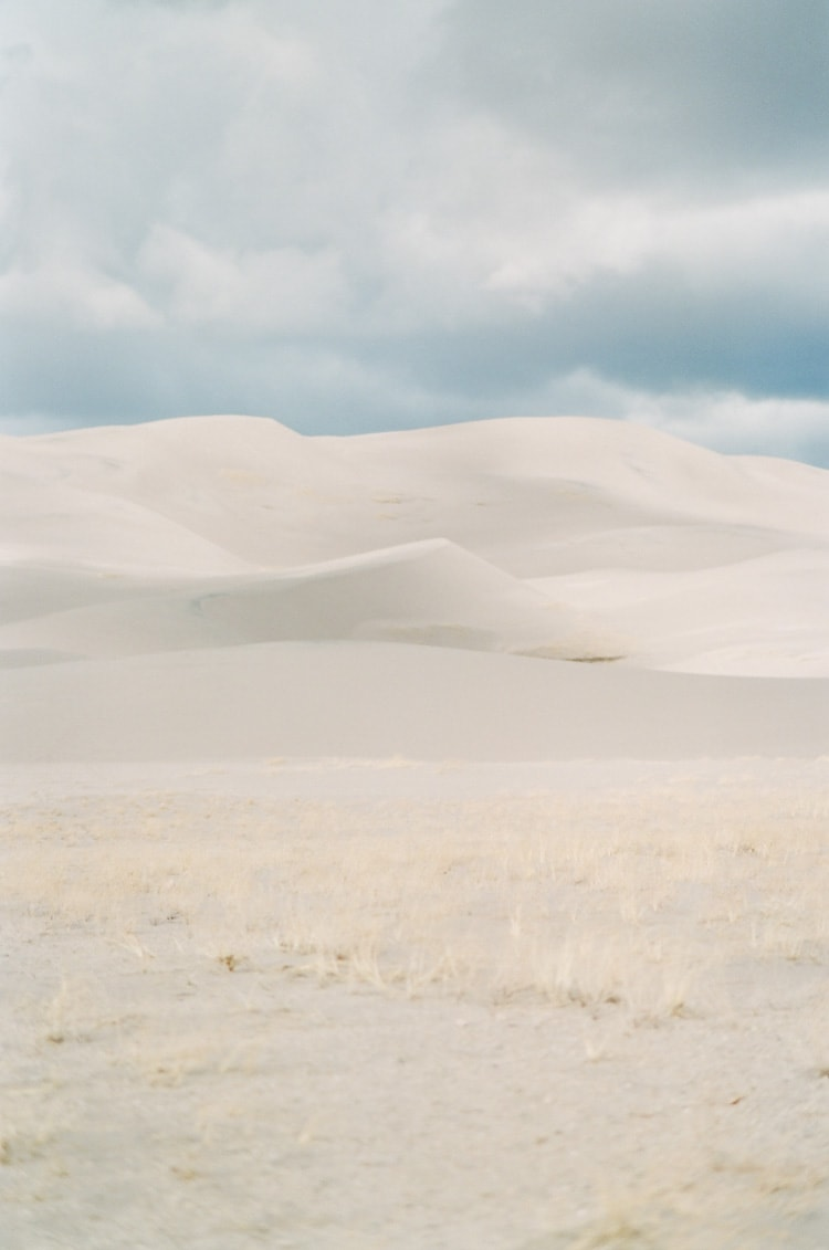 Great Sand Dunes of Colorado at the National Park and Preserve