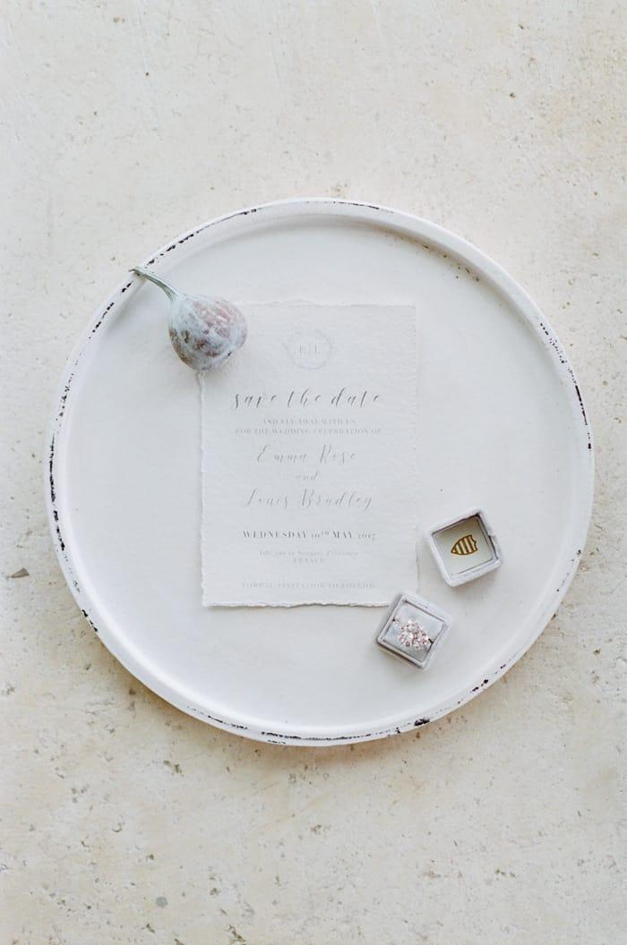 Wedding Invitation At Le Clos Saint Esteve At Tamara Gruner Workshops