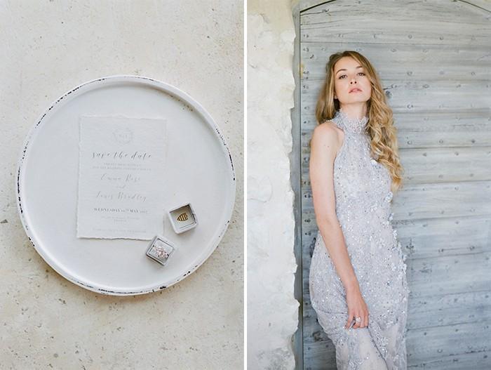 Engaged Bride  At Le Clos Saint Esteve At Tamara Gruner Workshops