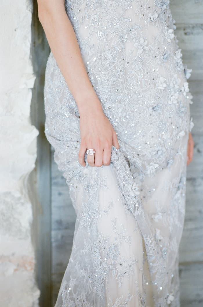 Engagement Dress Details At Le Clos Saint Esteve At Tamara Gruner Workshops