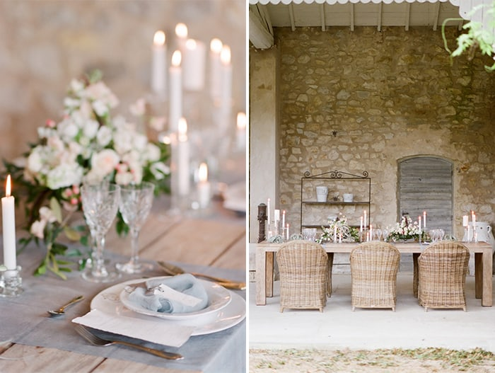 Wedding Reception At Le Clos Saint Esteve At Tamara Gruner Workshops