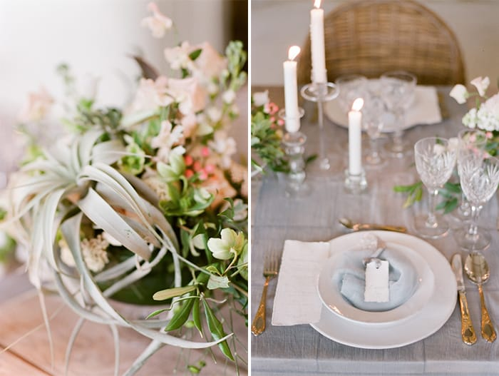 Wedding centerpiece and Reception Details