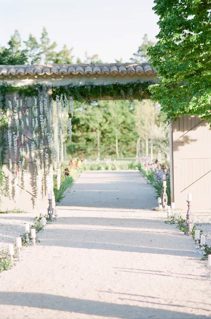 Wedding Ceremony At Le Clos Saint Esteve