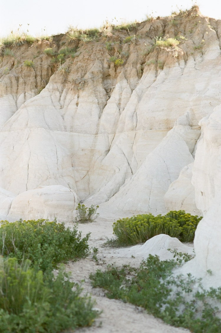 Colorful clays at the Paint Mines in El Paso County