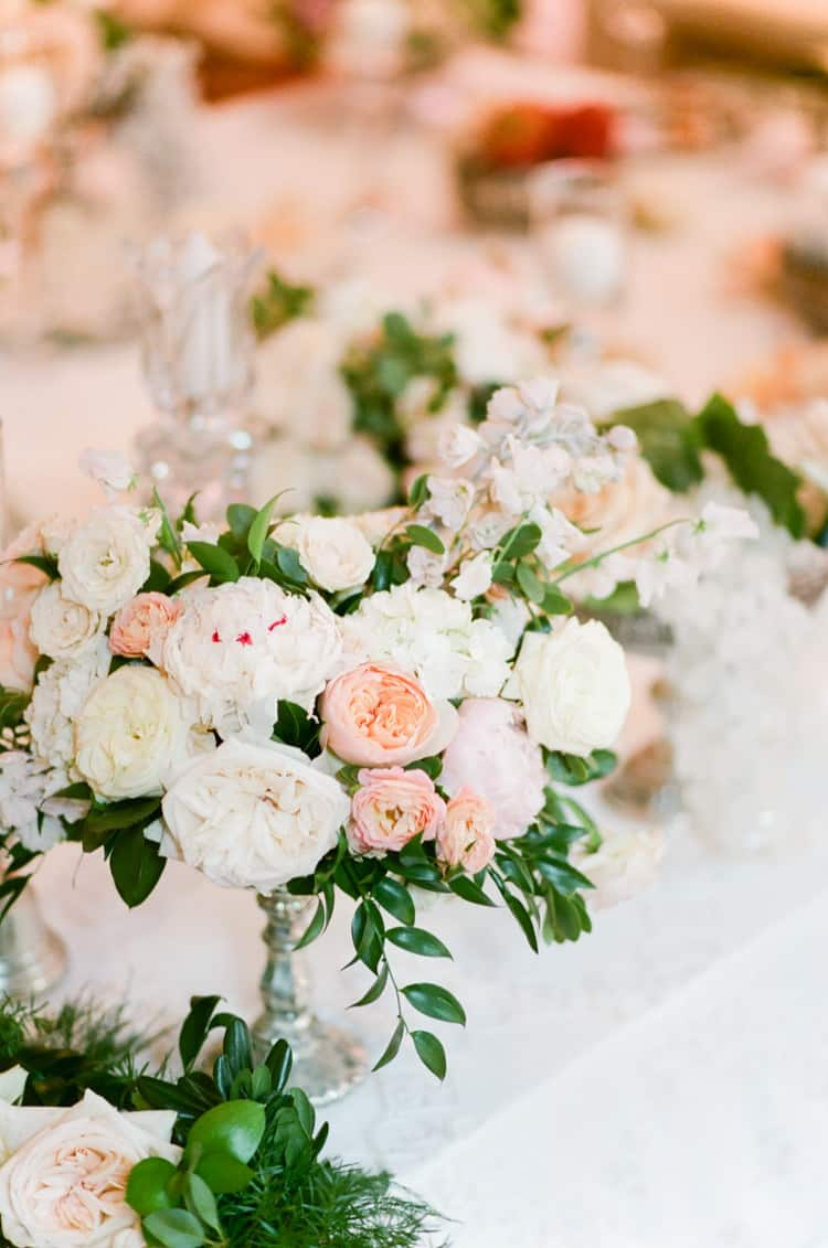 Persian Florals At Summer Wedding At Four Seasons Vail With White Birch Weddings