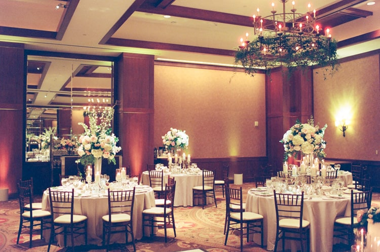 Reception At Summer Wedding At Four Seasons Vail With White Birch Weddings