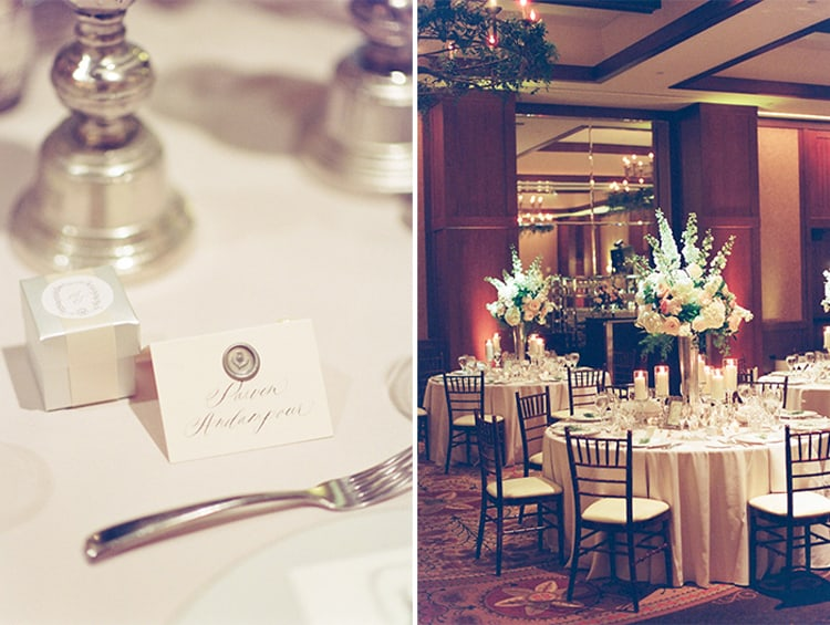 Wedding reception at the Four Seasons Vail