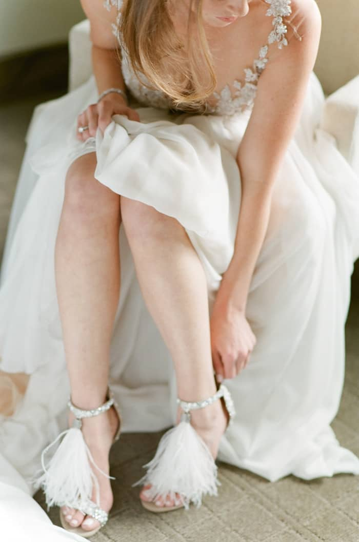 Bride Getting Ready At The Westin Riverfront And Spa In Beaver Creek With Calluna Events
