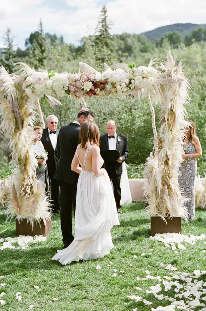 ewish Wedding At The Westin Riverfront And Spa In Beaver Creek With Calluna Events