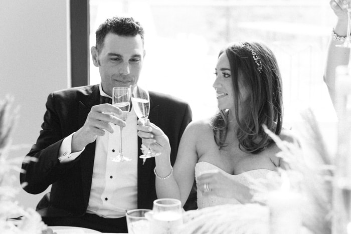 Bride And Groom Cheering At Jewish Wedding At The Westin Riverfront And Spa In Beaver Creek With Calluna Events