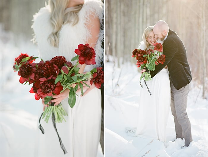 Vail Winter Elopement with Milk Glass Productions