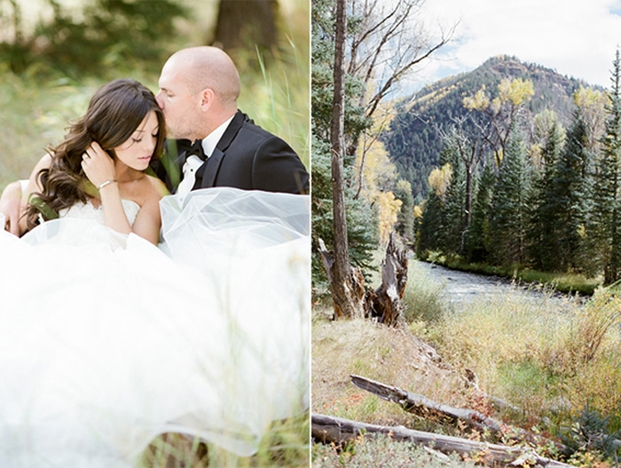 Elopement in the Telluride mountains