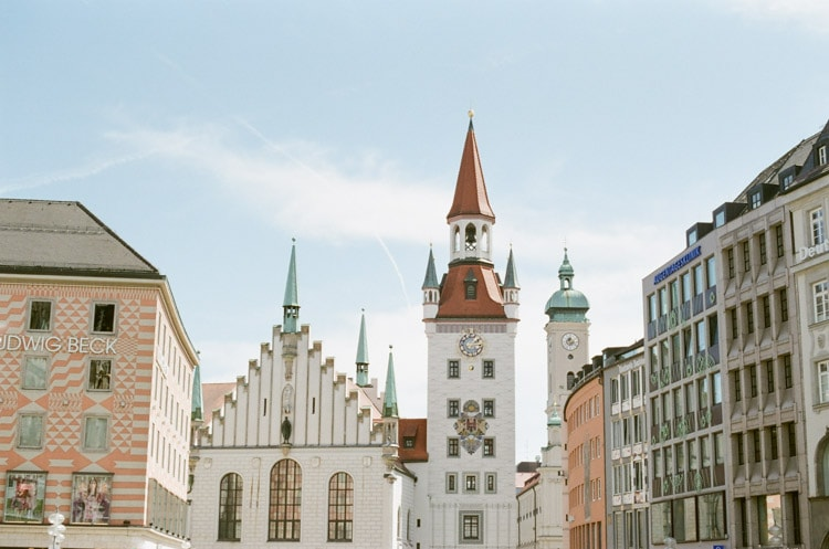 Architecture in Munich Germany