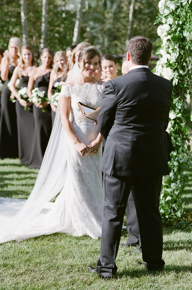 Exchanging of wedding vows