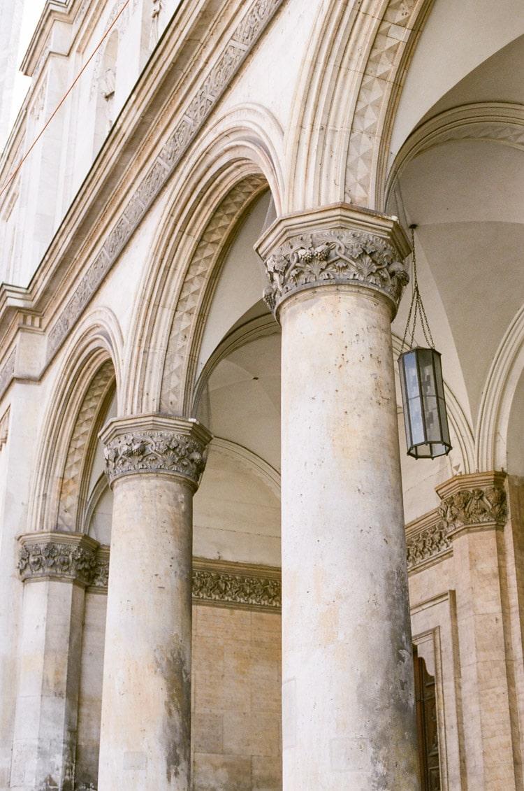 Columns in Munich Germany