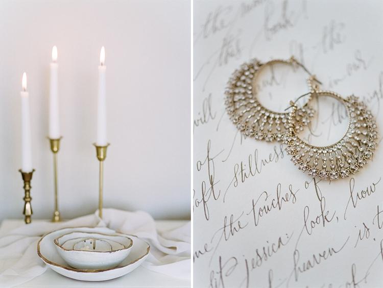 Wedding details at an intimate elopement in Munich