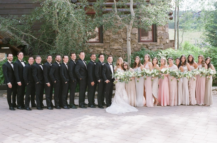 Full bridal party together