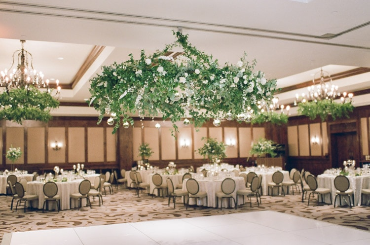 Reception in the grand ball room