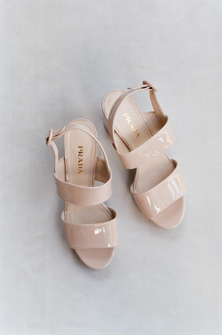 Styled Blush Prada shoes