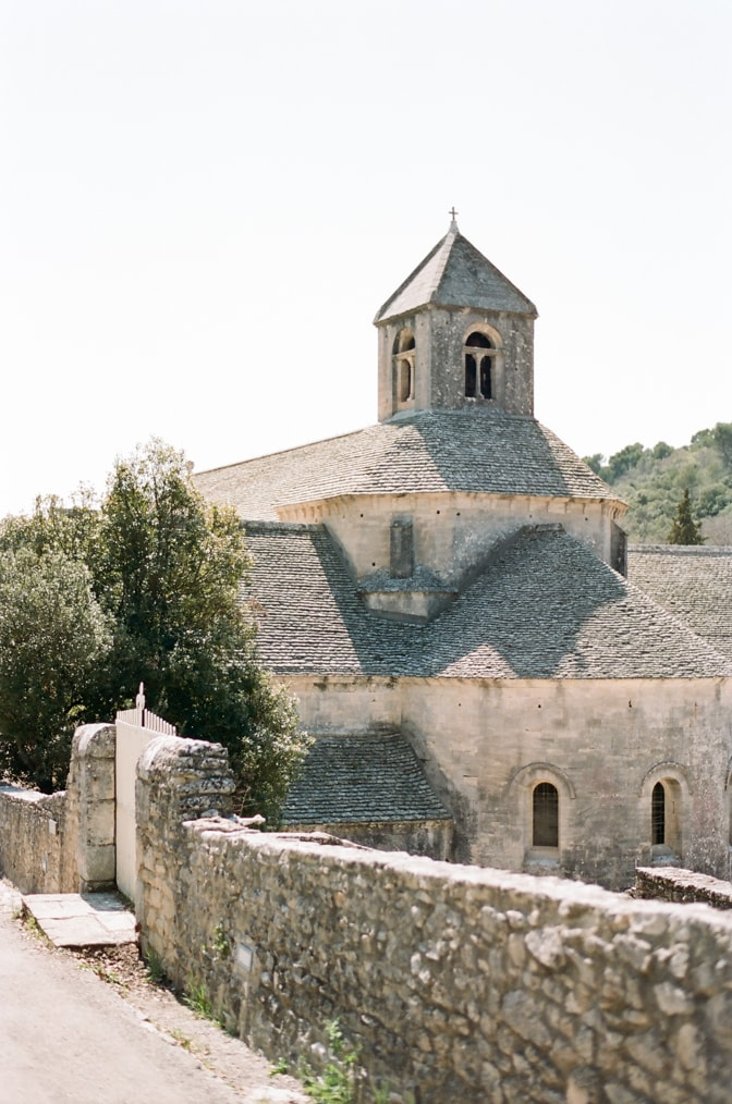 Monastery of Notre-Dame de Senanque in Provence, France