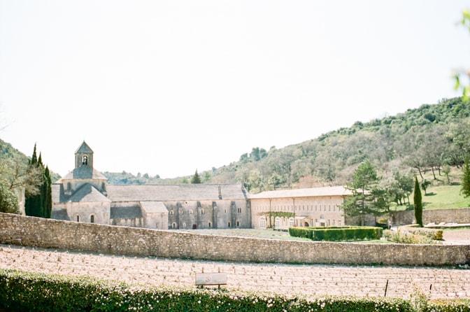 Notre-Dame de Senanque Monastery and its surrounding lavender fields