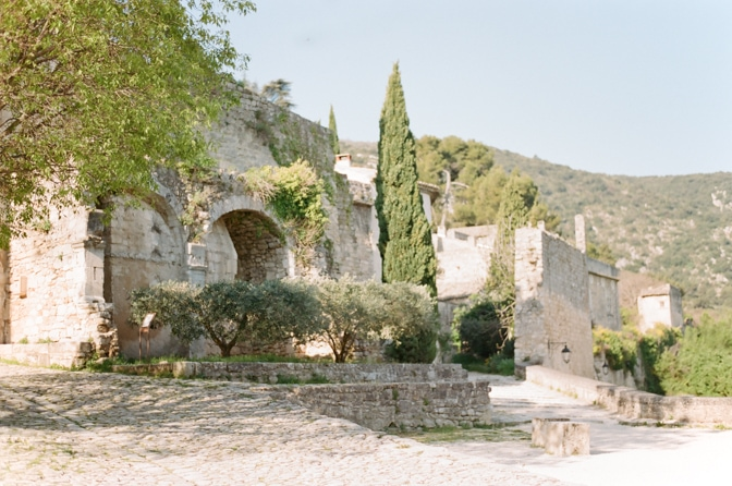 Oppède le Vieux in Provence
