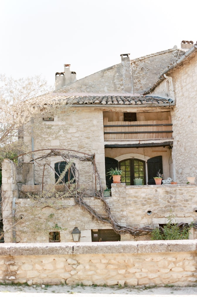 Village homes in Oppède le Vieux in Provence, France